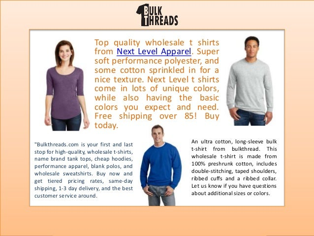 f507d012 Bulkthreads presentation Wholesale t shirts
