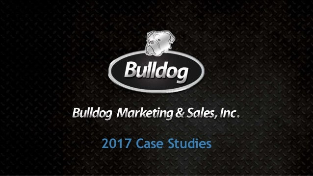 2017 Case Studies