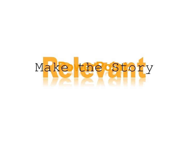 Make the Story