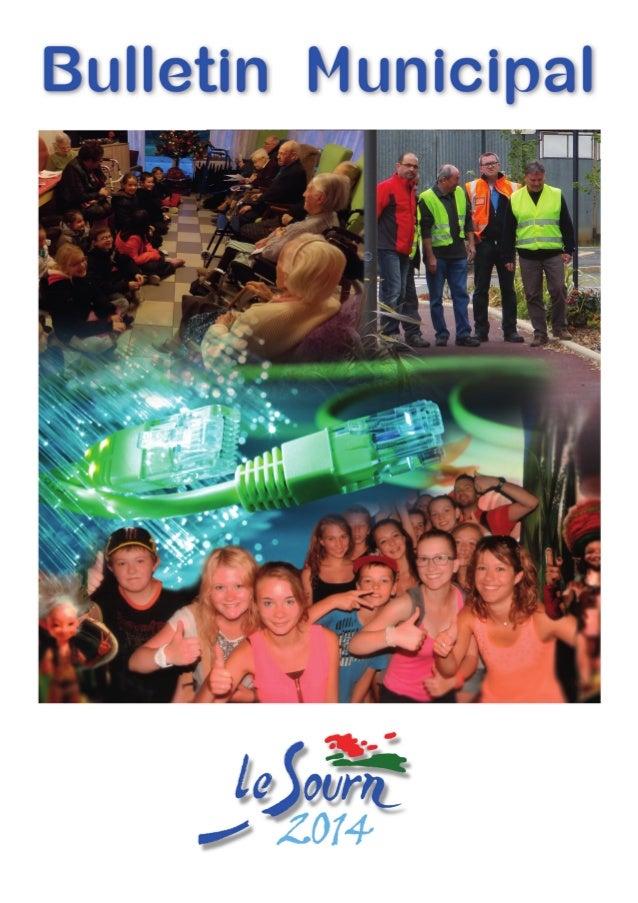 Sommaire www.lesourn.fr p.10état civil 2014 Naissances - Mariages - Décès p.p 4-9Informations communales Dossier fibre opt...