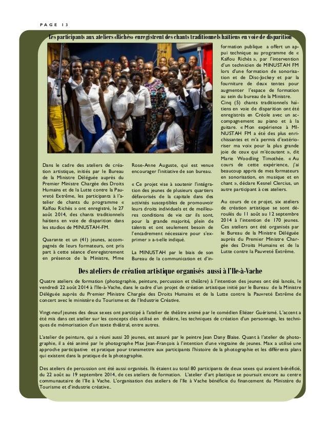 Bulletin du cidp ao t octobre 2014 for Cid special bureau 13 april 2014