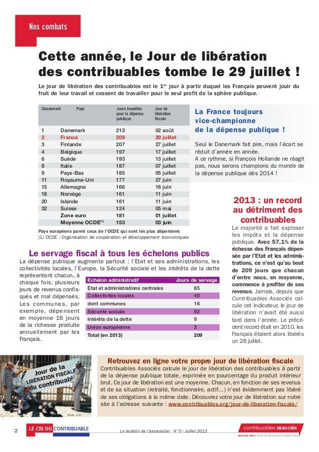 Bulletin contribuables associes_juillet2013 Slide 2
