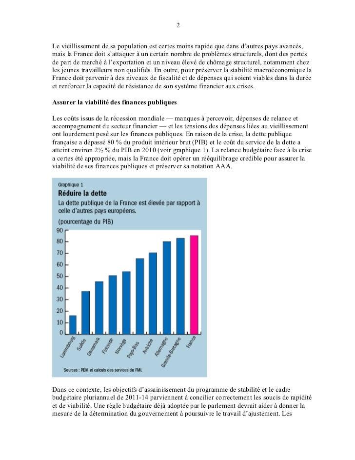 Bulletin du fmi 27 07-11 Slide 2