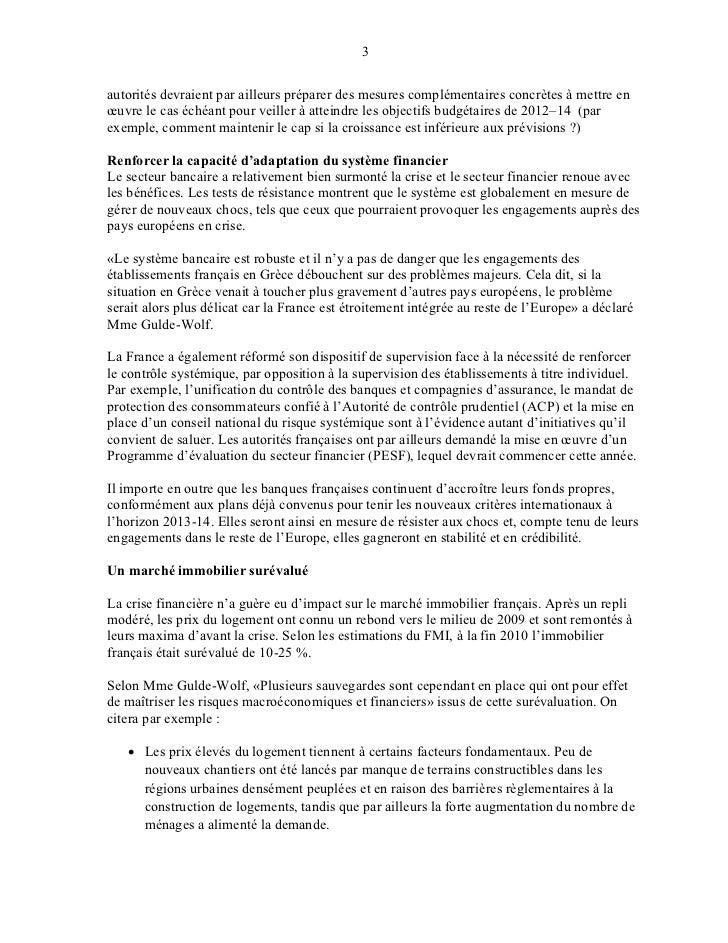 Bulletin du fmi 27 07-11 Slide 3