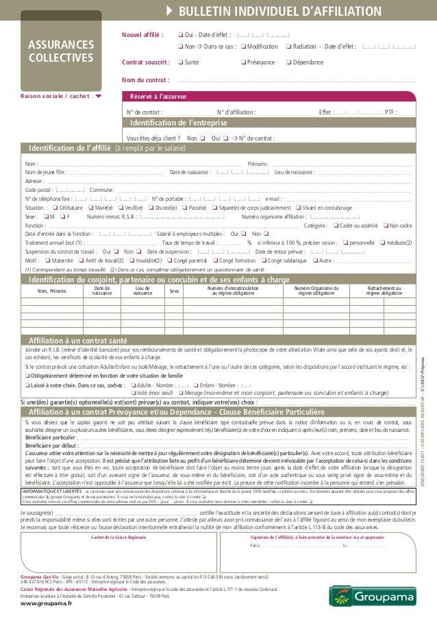 a3930dc9d1ff87 3350-201697-102011 – exemplaire assureur – G2s   MISP   Prépresse Bulletin  individuel ...