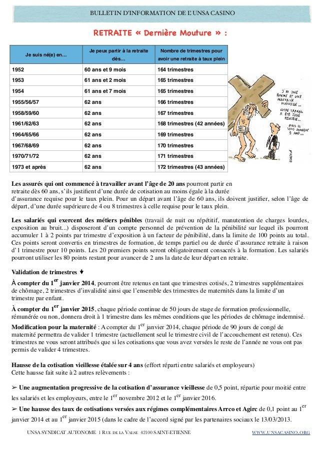 Bulletin infos gerants unsa 03 2013 11 Slide 2