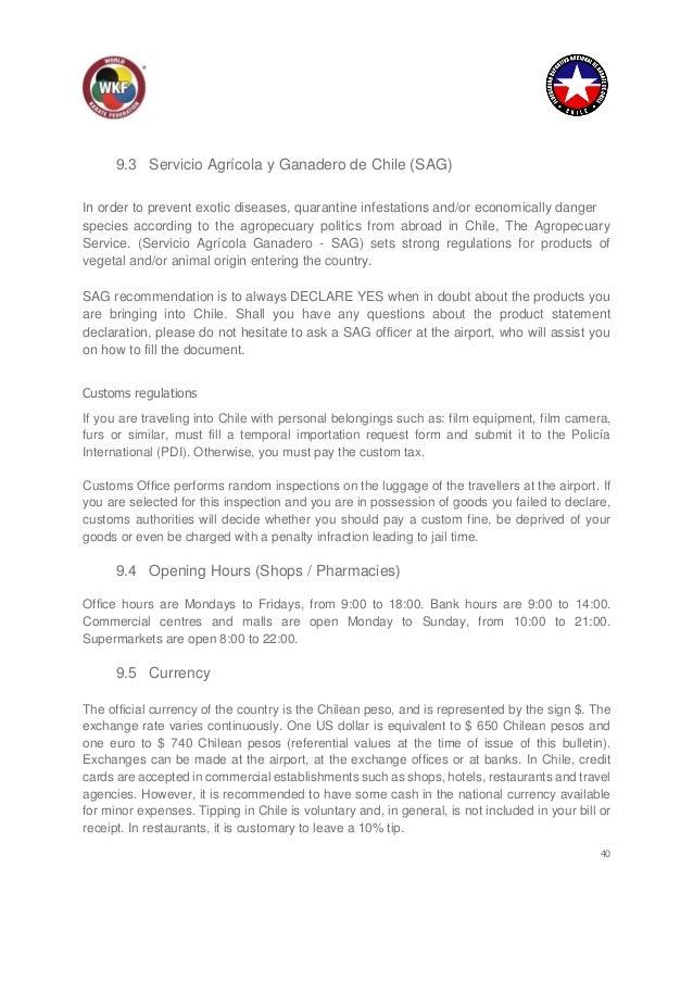 Boletín Nr  1 para los próximos Campeonatos WKF Cadet, Junior y U21 q…
