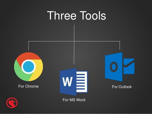 For Chrome Three Tools For MS Word For Outlook