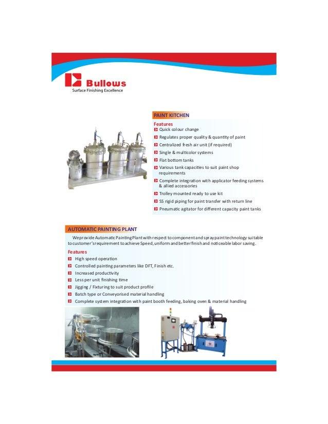 Bullows Product Catalog