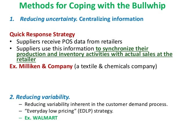 everyday low price how to help bullwhip effect walmart