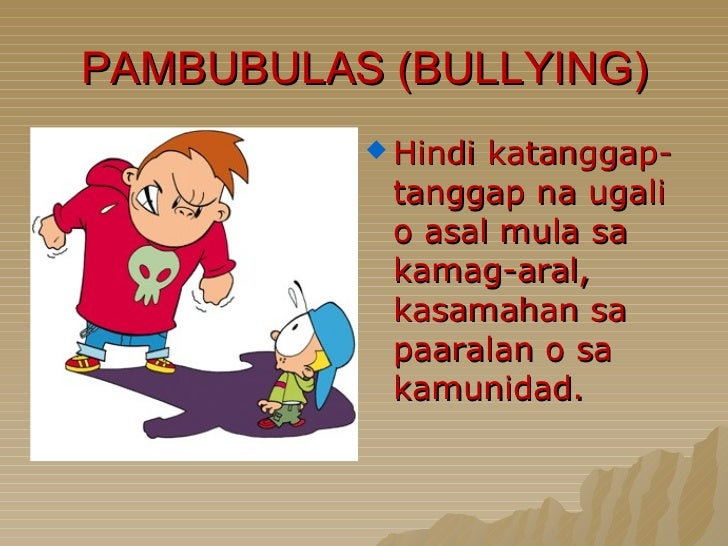 Bullying Slide 3