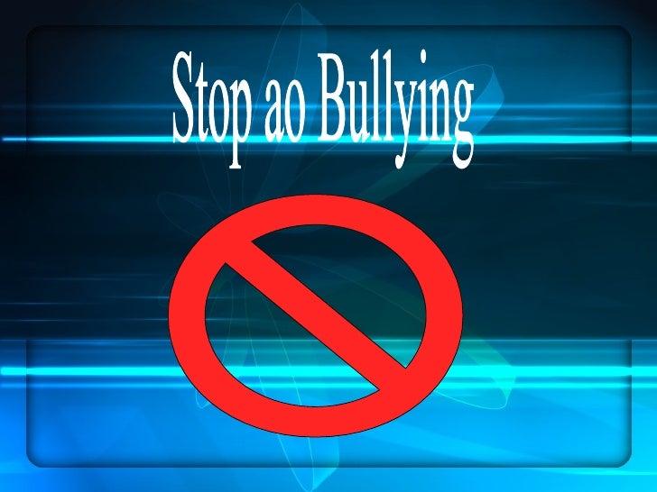 Stop ao Bullying