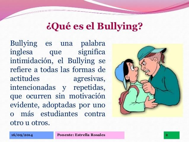 El bullying escolar - El bulin de horcajuelo ...
