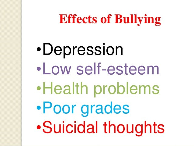 physical effects of bullying Emotional bullying can happen in personal relationships or at work learn what emotional bullying is and how to stop an emotional bully.