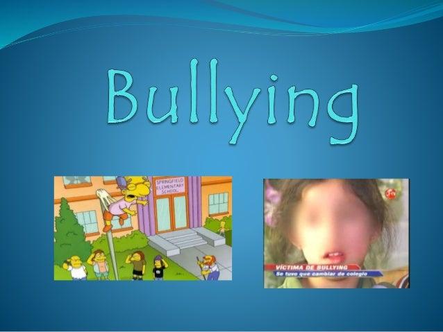 """¿ que es el bullying?  """"conducta de persecución física y/o psicológica que realiza un estudiante contra otro, al que esco..."""
