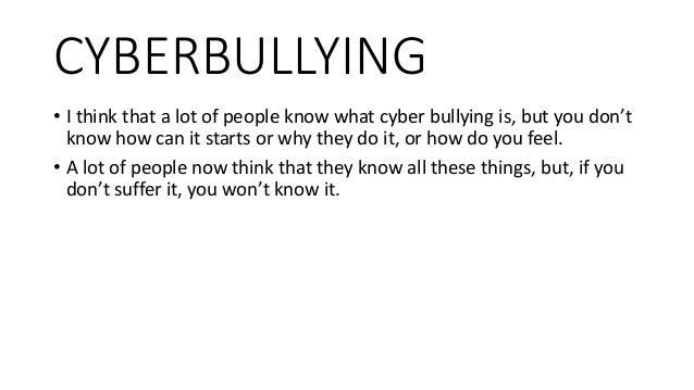 When did cyberbullying begin