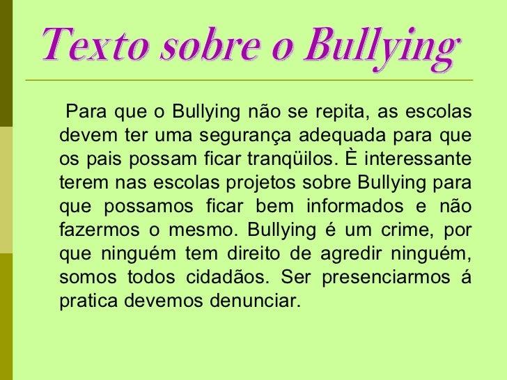 Excepcional Bullying respeite as diferenças! AK44