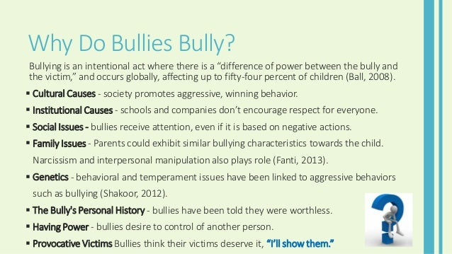 does childhood bullying have social psychological Psychologists have known for years that bullying from a young age can  the  study published in the journal social psychology of education.