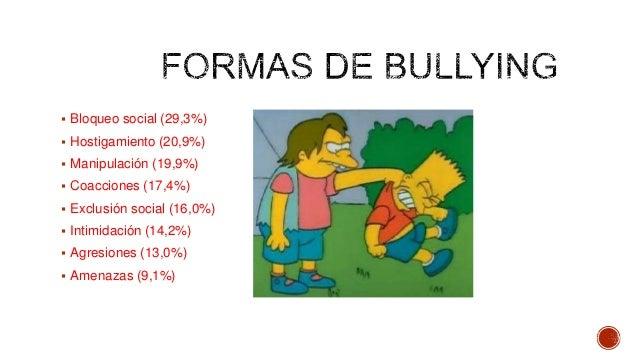 Bullying o matoneo Slide 3