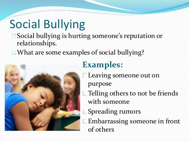 Bullying and bully prevention