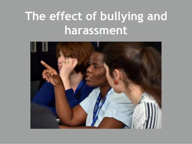 Bullying and harassmen...