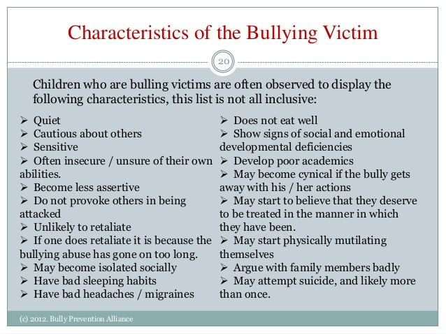 Bullying an overview of the concern in indiana presented ...