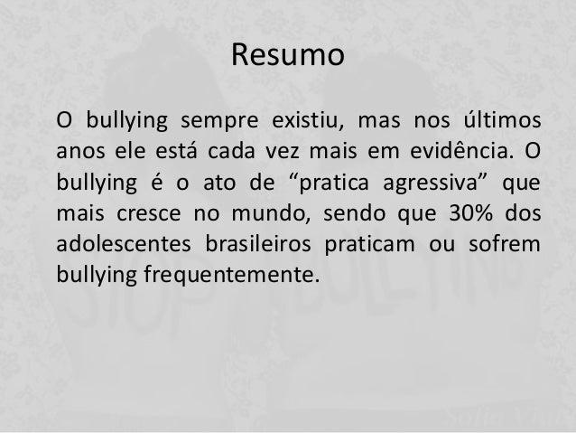 Bullying apresentação Slide 2