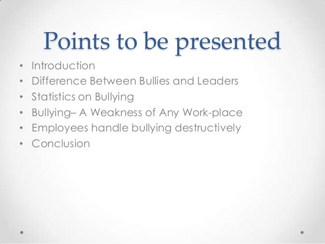 bullying introduction I would start this essay with a hook in the introduction paragraph a hook that would get the reader's attention could be a story based around bullying or even just a.