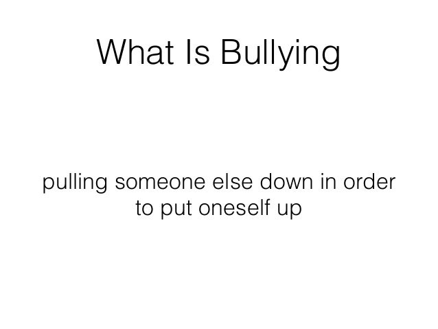 the causes and effects that come from bullying Discover how prolonged bullying can lead to anxiety disorders and what you can do about it menu bullying and anxiety - what is the look or act will cause others.
