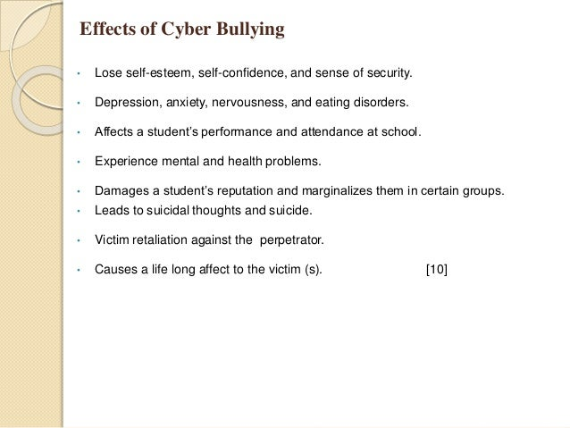 Causes of Cyberbullying