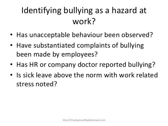 how to deal with bullying at work uk