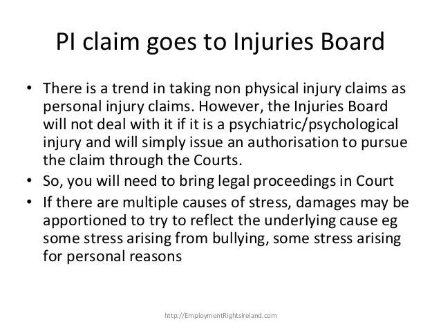 psychiatric injury tort essays