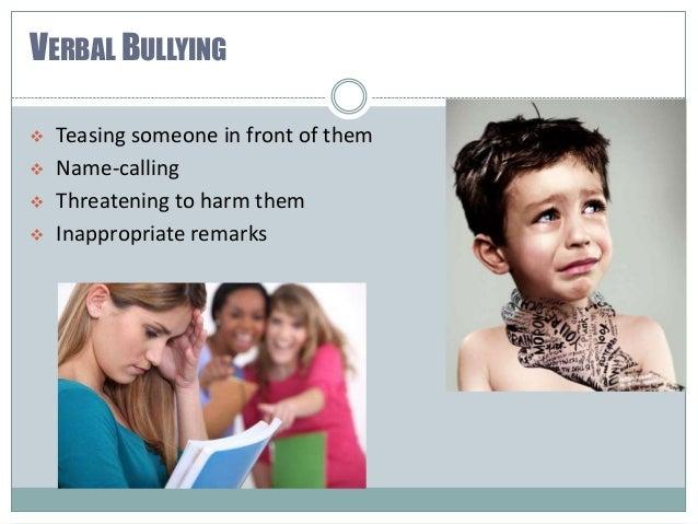 Bullying is not okay