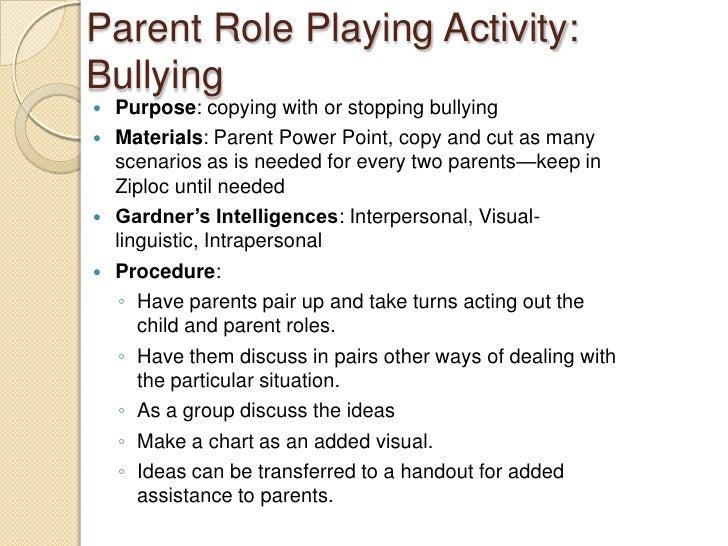 Bullying Parent Workshop