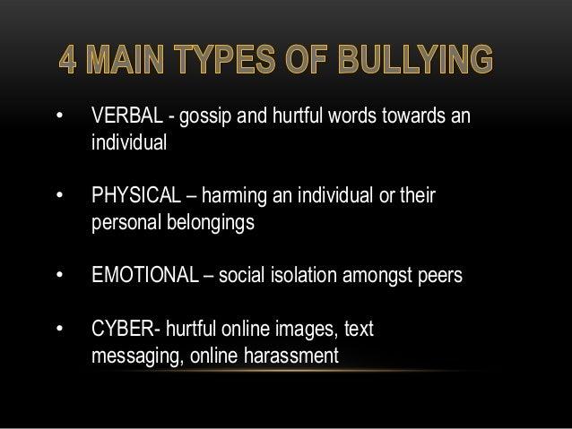 Bullying powerpoint Slide 3