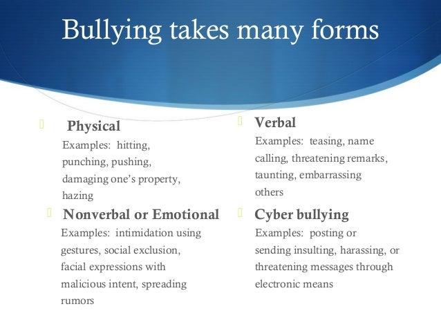 Bullying ppt 15 16