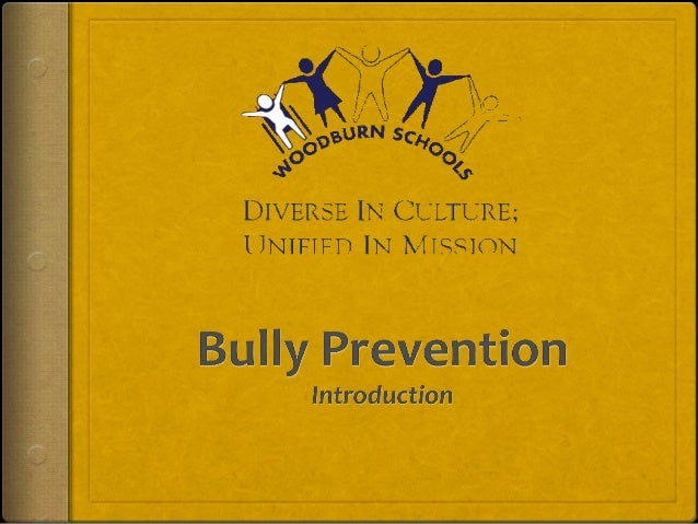 Bully Prevention Objectives During Advisory I.Students and teachers will understand the Stop, Walk, and Talk strategy as i...