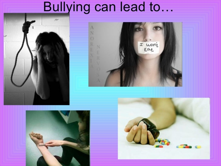 Bullying leads to suicide