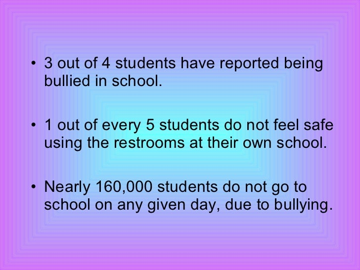bullying project The sheffield project has been inspired by the success of the nationwide anti  bullying campaign in norway evaluation of the campaign which started in 1985 .