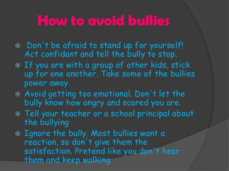 ways to reduce bullying in school essay
