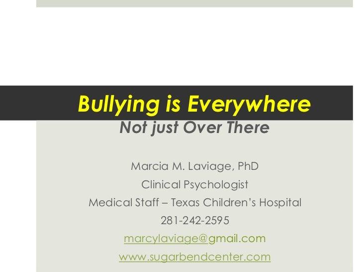 Bullying talk kolter