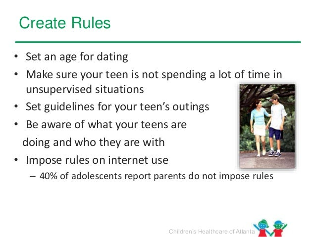Dating age rule
