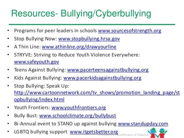 the impact of bullying Cyberbullying is the use of technology to harass, threaten, embarrass or target another person here are some suggestions on what to do if online bullying has become part of your child's life.