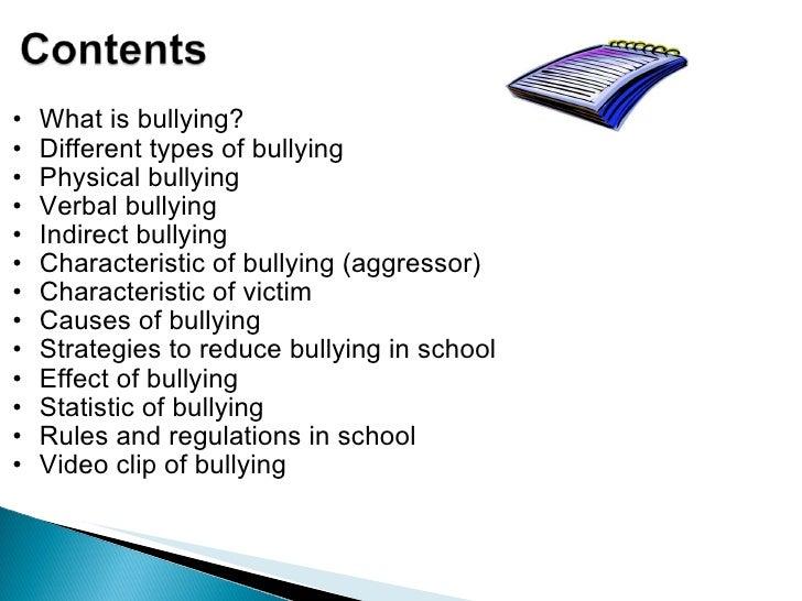bullying at schools essay