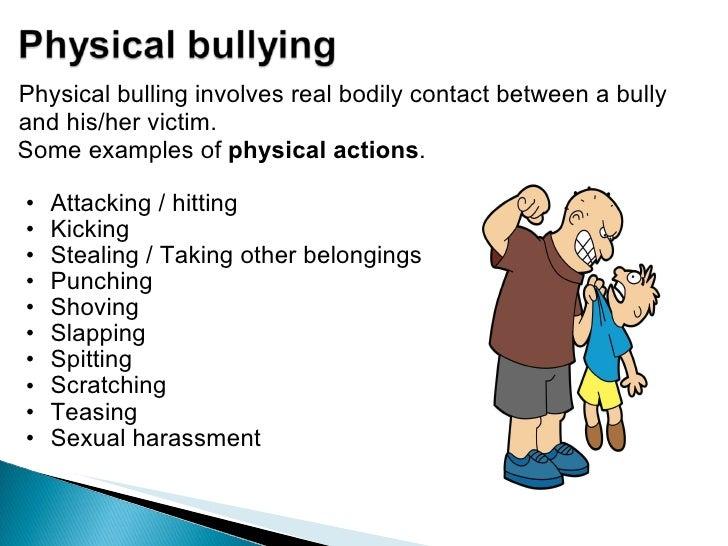 School bullying presentation.