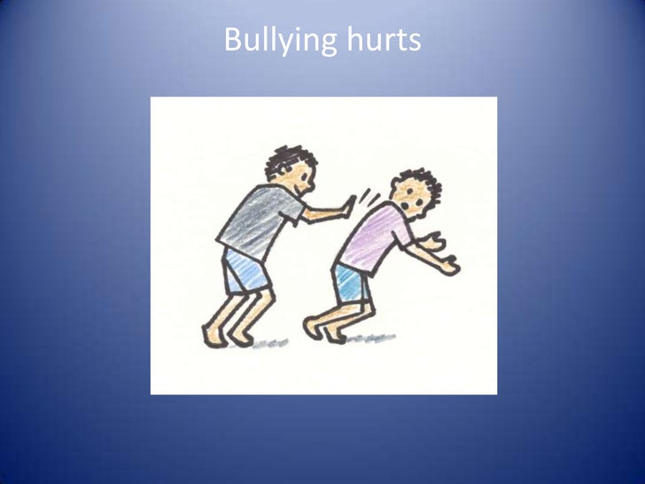 Bullying hurts<br />