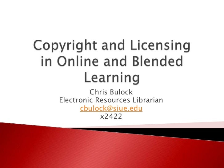 Chris BulockElectronic Resources Librarian      cbulock@siue.edu            x2422