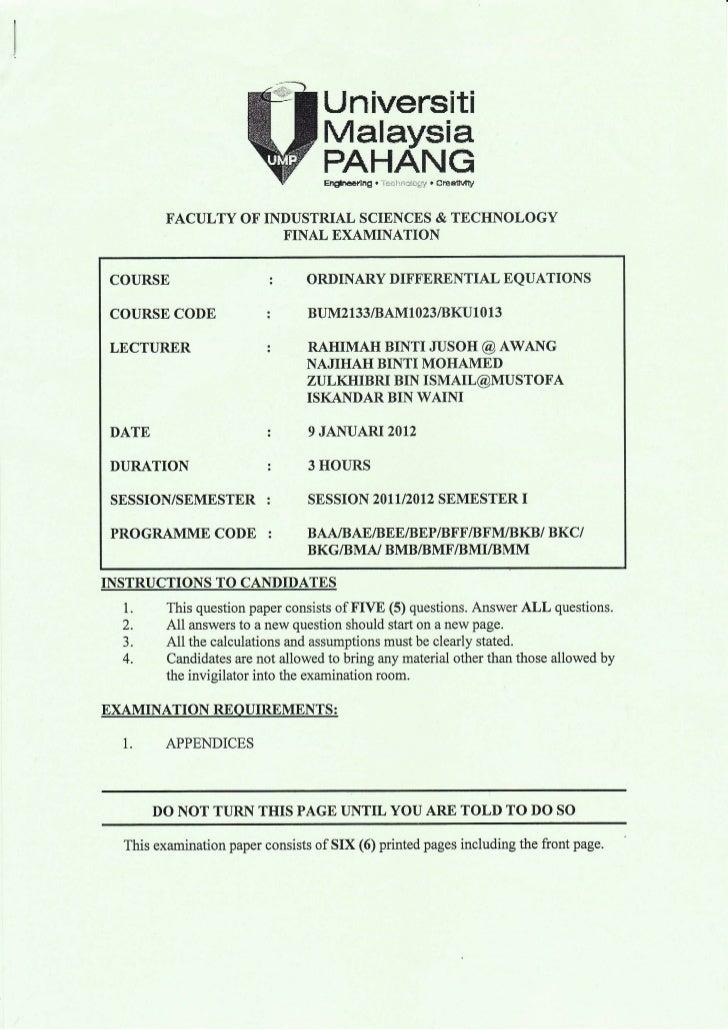 Universilti                                     Malaysia                                     PAHANG                       ...
