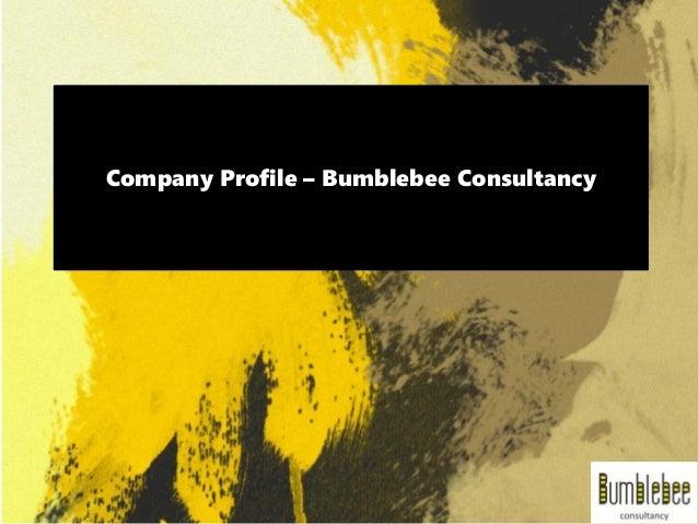 Company Profile – Bumblebee Consultancy