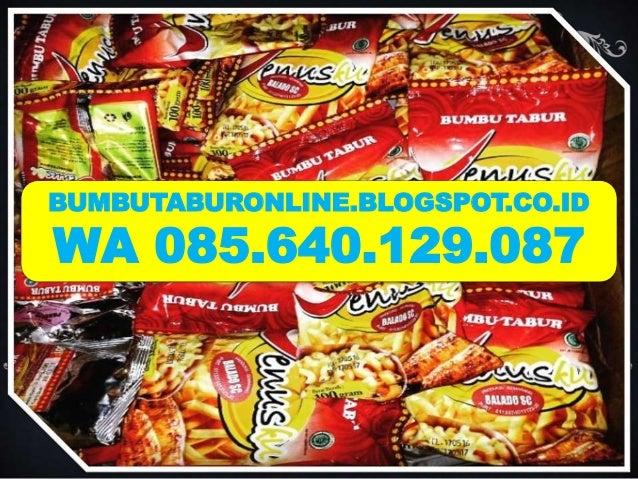 BUMBUTABURONLINE.BLOGSPOT.CO.ID WA 085.640.129.087